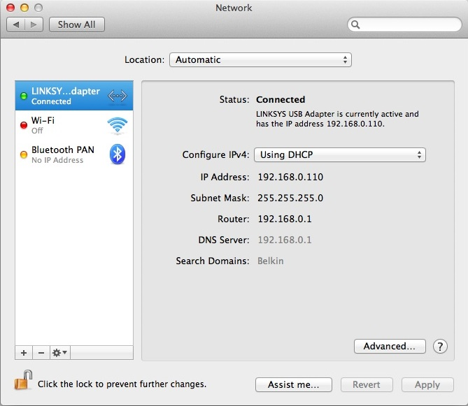 Mac driver for USB Ethernet adapter
